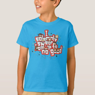 "Cartoon ""I solemnly swear"" Graphic T-Shirt"