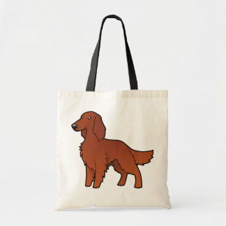 Cartoon Irish / English / Gordon / R&W Setter Tote Bag