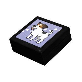 Cartoon Jack Russell Terrier Gift Box