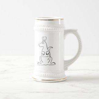 Cartoon Kangaroo Mugs