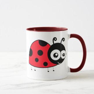Cartoon Ladybug Mug