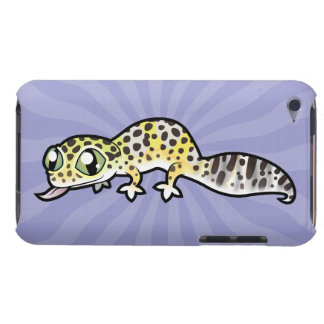 Cartoon Leopard Gecko iPod Case-Mate Cases
