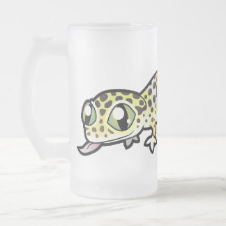 Cartoon Leopard Gecko Coffee Mugs