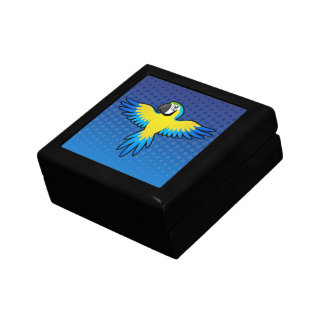 Cartoon Macaw / Parrot Gift Box