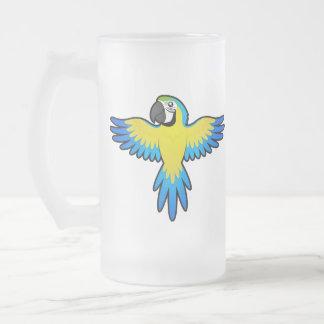 Cartoon Macaw / Parrot Mugs