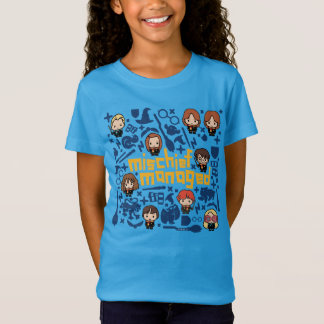 "Cartoon ""Mischief Managed"" Graphic T-Shirt"