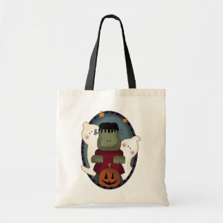 Cartoon Monsters Halloween Treat Bag