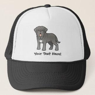 Cartoon Neapolitan Mastiff Trucker Hat