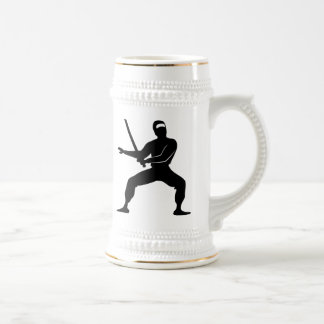 Cartoon Ninja Beer Steins