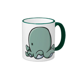 Cartoon Octopus Coffee Mugs