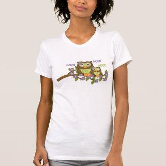 Cartoon Owl Jersey Short Sleeve t-shirt