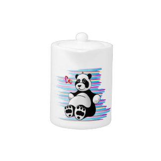 Cartoon Panda Bear Stuffed Animal