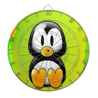 Cartoon Penguin Dartboard