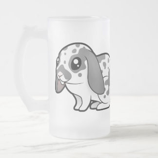 Cartoon Rabbit (floppy ear smooth hair) Mugs