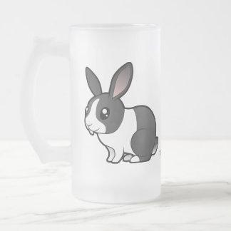 Cartoon Rabbit (uppy ear smooth hair) Coffee Mugs