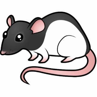 Cartoon Rat Photo Sculpture Magnet