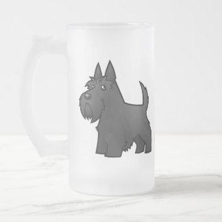 Cartoon Scottish Terrier Coffee Mugs