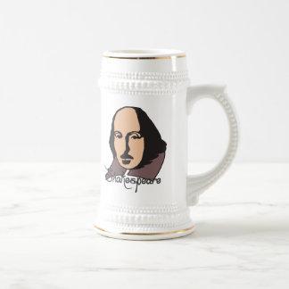 Cartoon Shakespeare Coffee Mugs