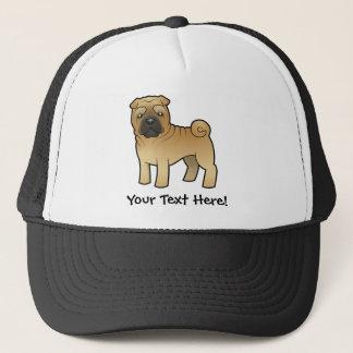Cartoon Shar Pei Trucker Hat