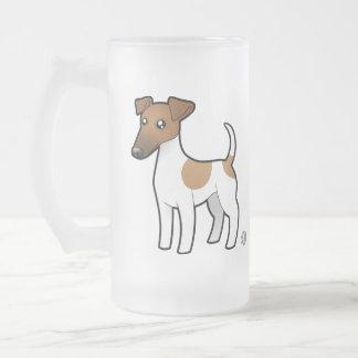 Cartoon Smooth Fox Terrier Coffee Mugs