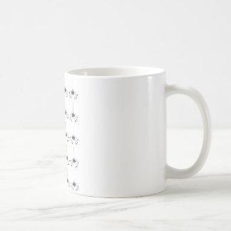 Cartoon spider basic white mug
