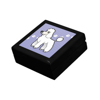 Cartoon Standard/Miniature/Toy Poodle Gift Box