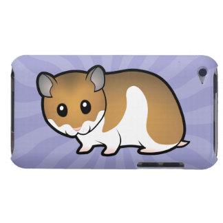 Cartoon Syrian Hamster Case-Mate iPod Touch Case