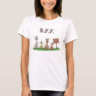 Cartoon T-shirts: Best Friends Forever T-Shirt