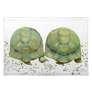 Cartoon Turtles American MoJo Placemat