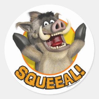 Cartoon Warthog Sticker