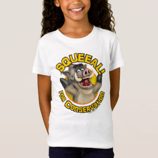 Cartoon Warthog T-Shirt: For Conservation T-Shirt