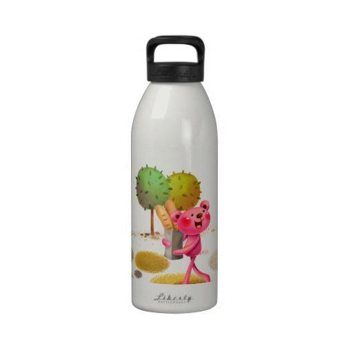 cartoon drinking bottle