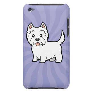 Cartoon West Highland White Terrier Barely There iPod Covers