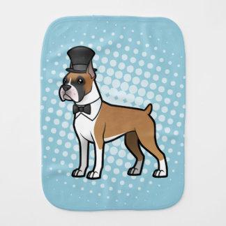 Cartoonize My Pet Burp Cloth