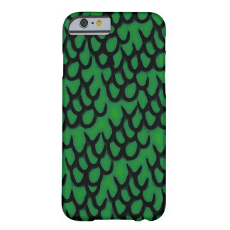 Cartoony Dragon Scales Barely There iPhone 6 Case