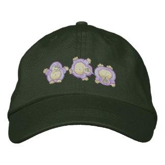 Cartwheeling Hedgehog Embroidered Baseball Cap