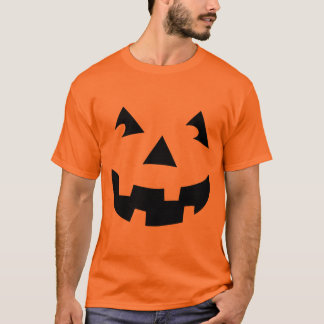 Carved Pumpkin Head T-Shirt