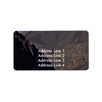 Carving River Address Label