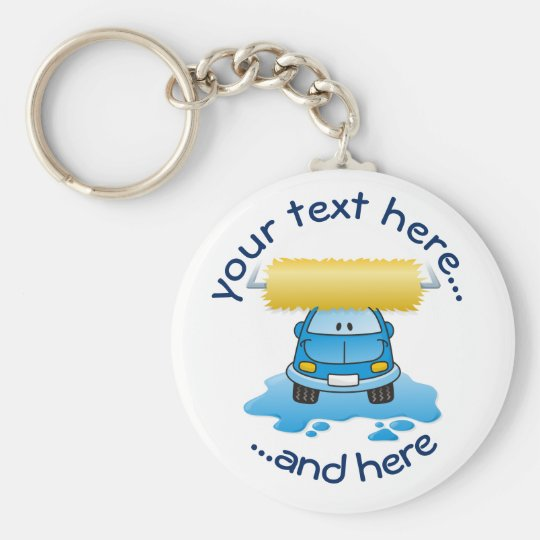 Carwash Key Ring
