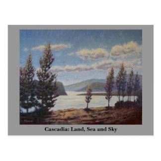 Cascadia: Land, Sea and Sky Postcard