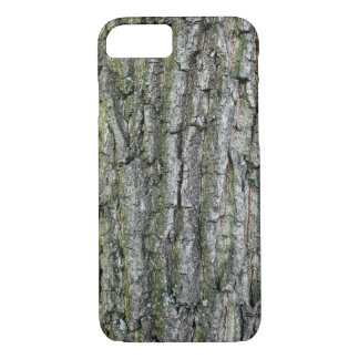 Case with the structure of the tree bark