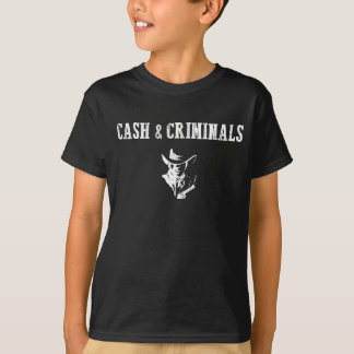 """Cash & Criminals"":Trendy Hipster Fashion T-Shirt"
