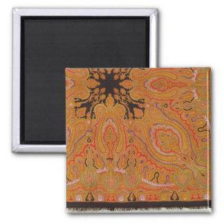 Cashmere scarf, c.1870-80 square magnet