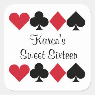 Casino - Las Vegas - Poker Stickers