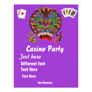 Casino Themes Masquerade 1 See Notes Flyer