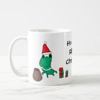 Cassie's cute Christmas frog Coffee Mug