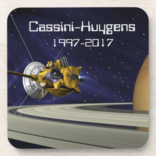 Cassini Huygens Saturn Mission Spacecraft Coaster