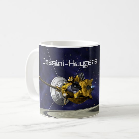 Cassini Huygens Saturn Mission Spacecraft Coffee Mug