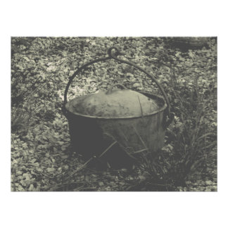 cast iron farm pot photo print