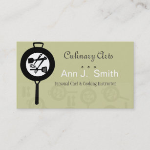 Food Industry Business Cards Zazzle Nz